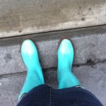 BTM vs. ATM- Rainy Day Rain Boots