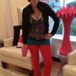 Muchness Pic of the day- Laughs in my fancy red pants