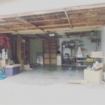 On my @earseeds business page I've been talking about how exciting it is to move our business out of the garage and into a formal office, but here I'm gonna tell you the *most* exciting thing, is converting my now empty garage into an art studio!