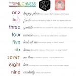 10 Day Muchness Challenge!!