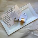 Gilded trinket tray